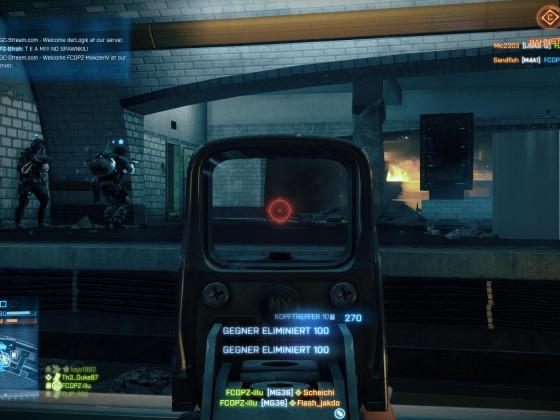 """""""Battlefield 3"""" - Die FCOPZ auf der Kult Karte -Metro- unterwegs"""
