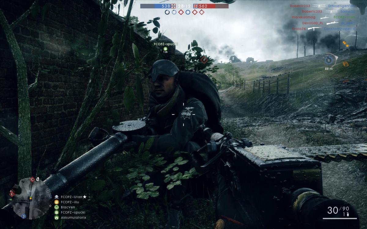 """""""Battlefield 1"""" - Wir beoachten Spucki beim beobachten"""