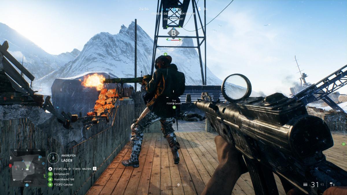 """""""Battlefield 5"""" - Wenn euch mal kalt ist, die FCOPZ heizen euch ein"""