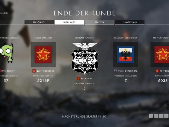 """""""Battlefield 1"""" - Das FCOPZ Logo sieht Ingame nicht übel aus"""