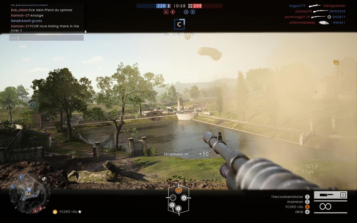 """""""Battlefield 1"""" - Und auch in BF1 kann man gute Panzer Action machen"""