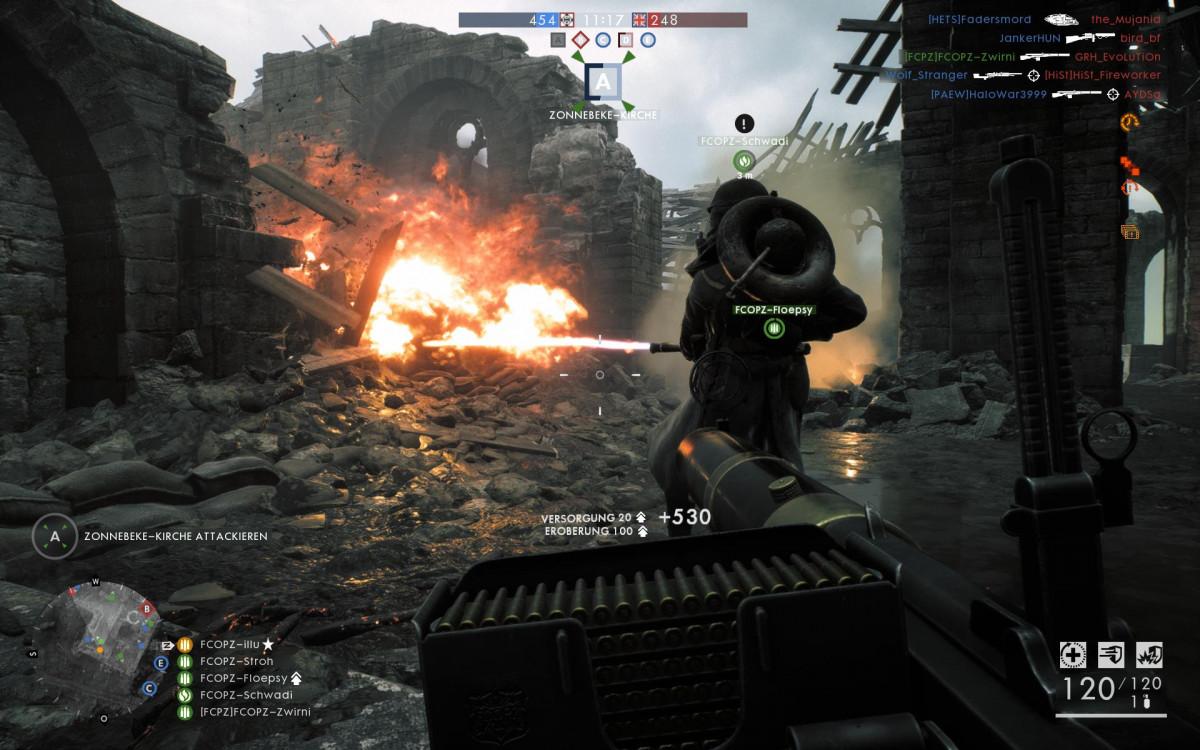 """""""Battlefield 1"""" - Die FCOPZ machen Feuer"""